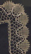 point ground bobbin lace