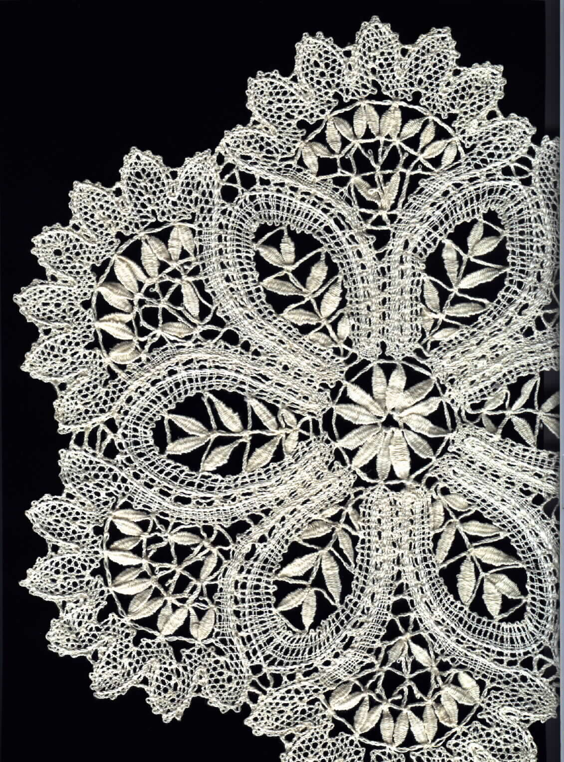revival era bobbin lace part